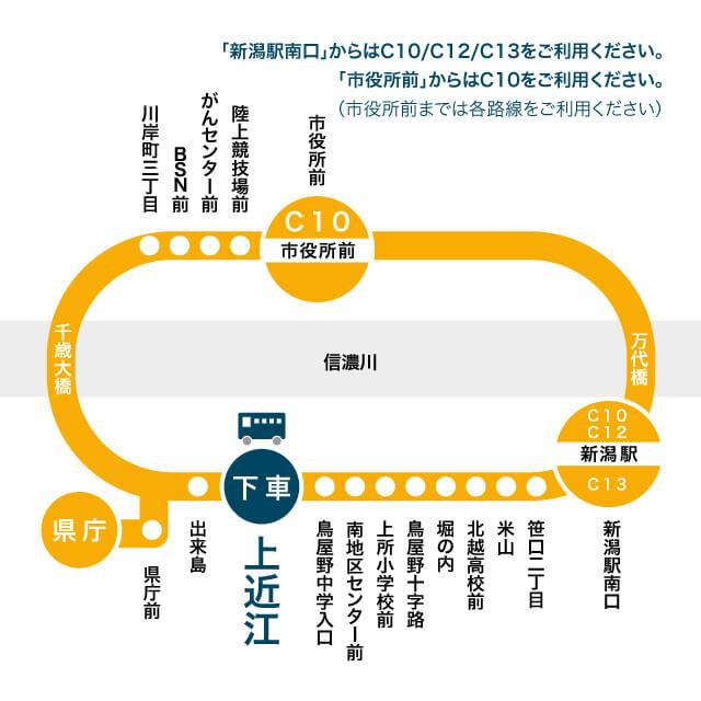 バス路線地図